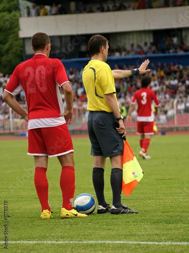 Fotografie, Obraz soccer official