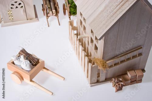 Papiers peints Attraction parc Miniatures