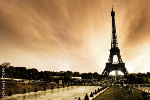 Photo Stands Paris Paris - La Tour Eiffel