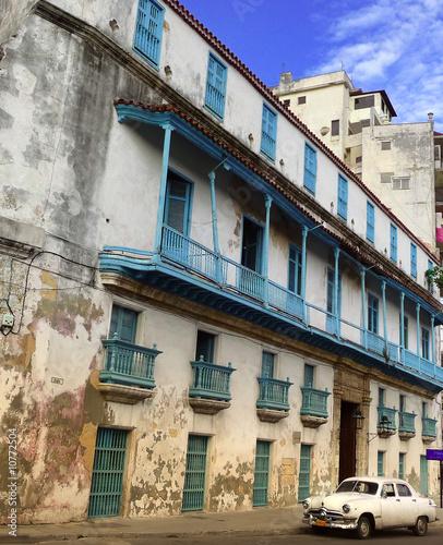 Deurstickers Cubaanse oldtimers havane