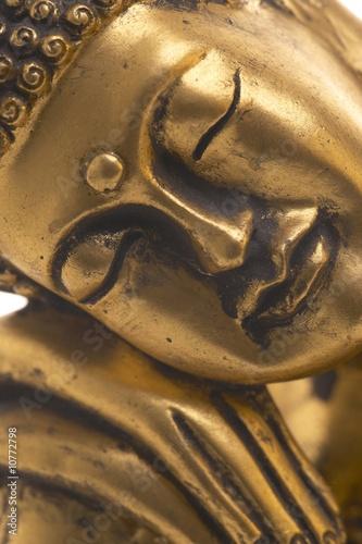 Foto-Stoff bedruckt - Sleeping Buddha (von Jules_Kitano)