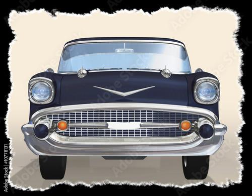 Photo  Old car 3d