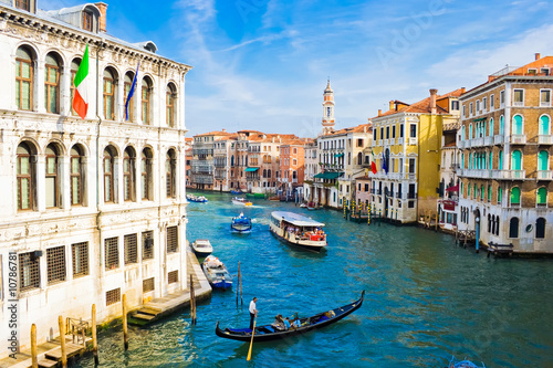 Photo sur Toile Venise Grand Canal in Venice