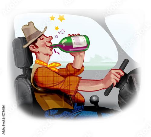 ubriaco al volante Canvas-taulu
