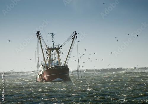 Fotografia, Obraz fishing ship