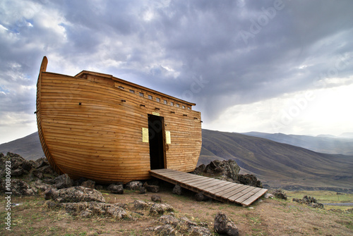 Aluminium Prints Turkey Noah's Ark