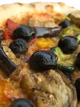 Vegetarian Pizza Closeup