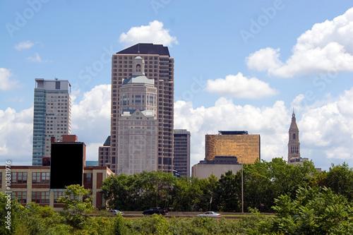 Photo  Hartford City Skyline