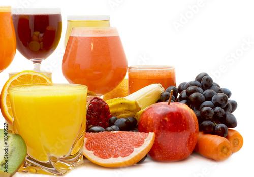 Foto op Canvas Sap Fruit juice