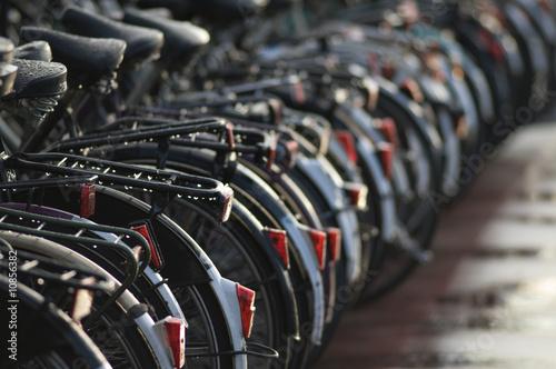 Photo Many bikes