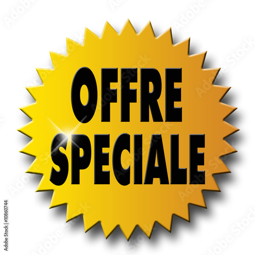 "Fotografie, Obraz  Sticker ""offre spéciale"""