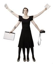 Vitruvius Officewoman