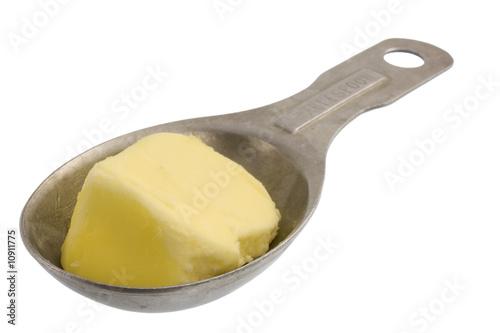 Vászonkép tablespoon of butter