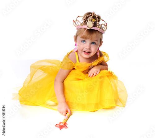 Fotografie, Obraz  Little Girl Dressed as a Princess