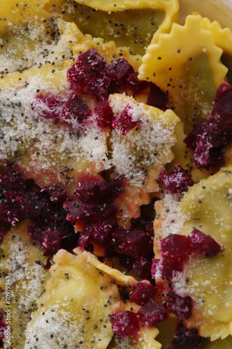Casunziei di erbetta rossa all ampezzana - Primi Veneto Slika na platnu