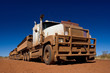 Australischer Road Train