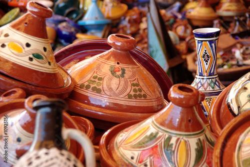 Foto op Aluminium Marokko plats à tagines