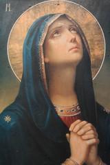 Naklejka Religia i Kultura antique religious icon