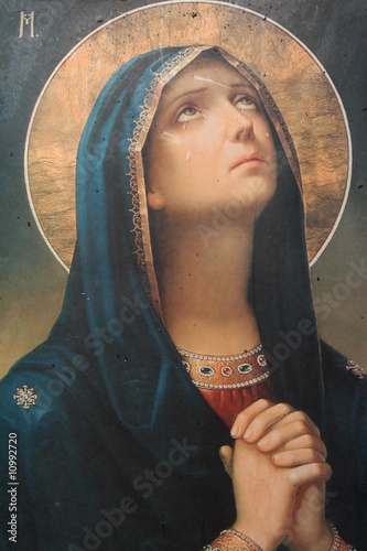 antique religious icon #10992720