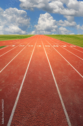 Fotografie, Obraz  Running Track