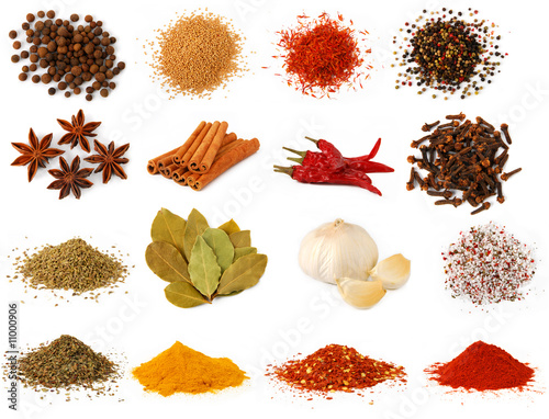 Photo Herbs and spices collection