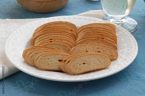 Baicoli - Biscotti veneziani - Dolci Ricette tipiche del Veneto Slika na platnu