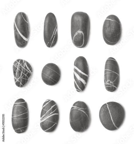 Doppelrollo mit Motiv - very stylish stones