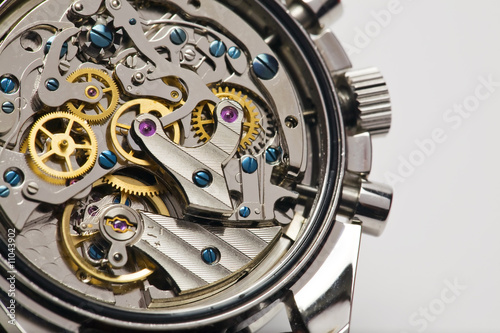 Modern watch detail