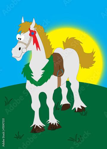 Fotobehang Pony Horse