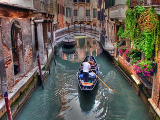 Fototapeta Gondoliere a Venezia