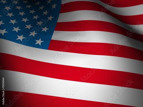 Fotografering  usa flag