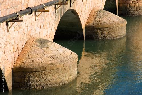Fotomural Puente de San Vicente de la Barquera, Cantabria (Spain)