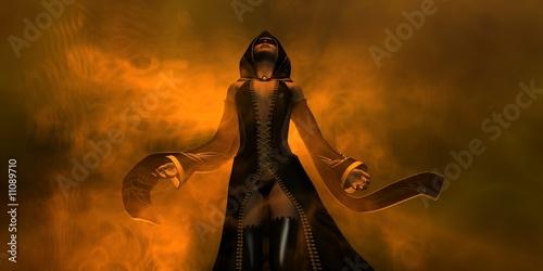 Obraz na płótnie female wizard