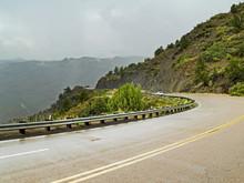 Rainy Day Mountain Travel