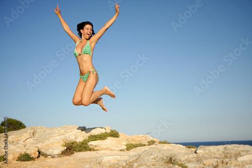 Fotografie, Obraz  Jumping