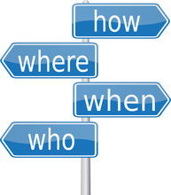 How - Where - When - Who