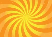 Orange Swirl Illustration