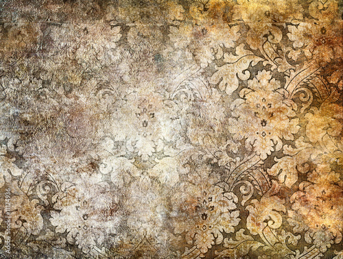 nice decorative background in golden colors