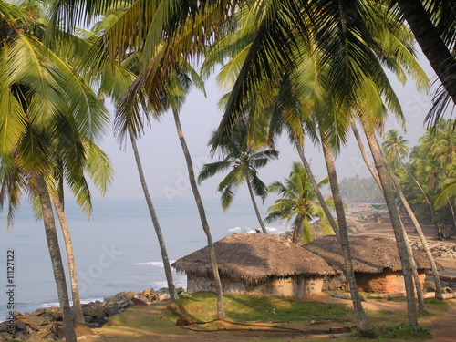 Fotografie, Obraz  Kerala Coast at Varkala 3