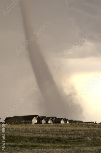 Fotografie, Obraz  Tornado over Parker Colorado