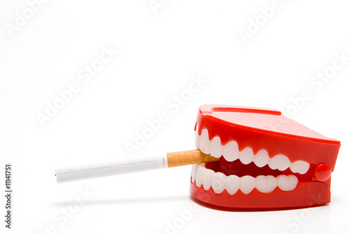Fotografie, Obraz  Stop Smoking
