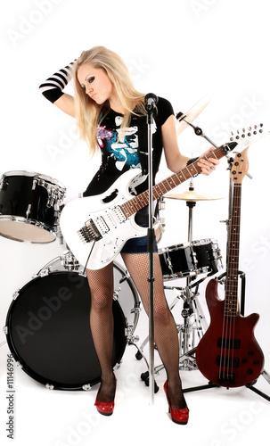 Keuken foto achterwand Art Studio rock-n-roll and Anna