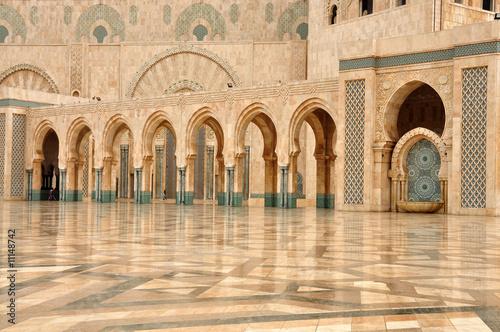 Fotografia Hassan II Mosque in Casablanca, Morocco