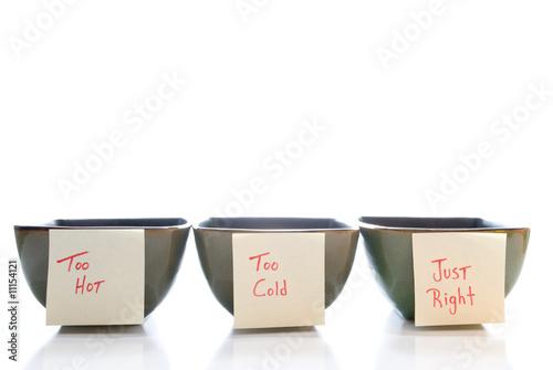 Fotografie, Obraz  Porridge Bowls