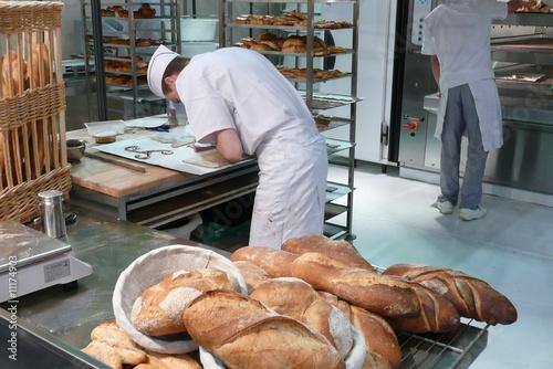 Papiers peints Boulangerie baoulanger