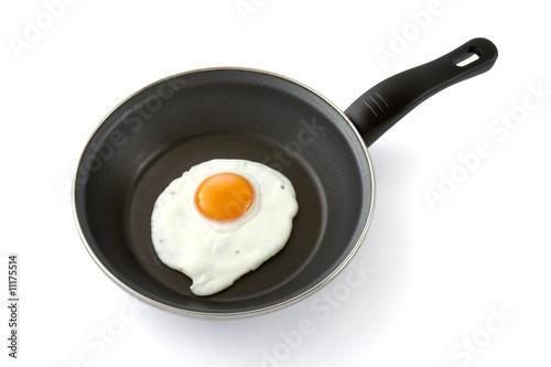 Deurstickers Gebakken Eieren eggs in kitchen 2