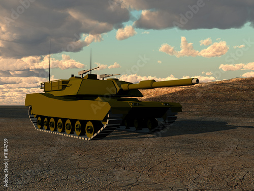 Foto op Canvas Militair War Tank 5