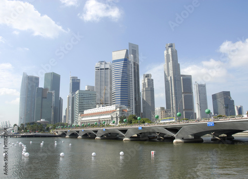Photo Stands Sydney Singapore City Center