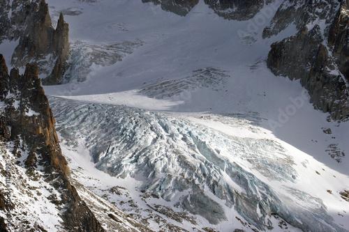 Fotografia, Obraz  glacier dans les Alpes