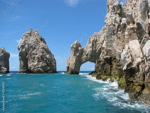In de dag Mexico Los Cabos, The arch